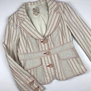 Vintage Nanette Lepore pinstripe blazer